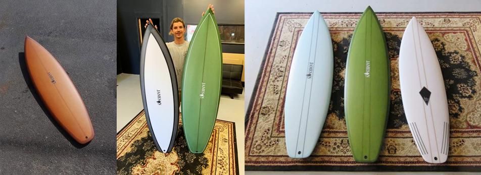 ジェムソンサーフボード Misfit モデル